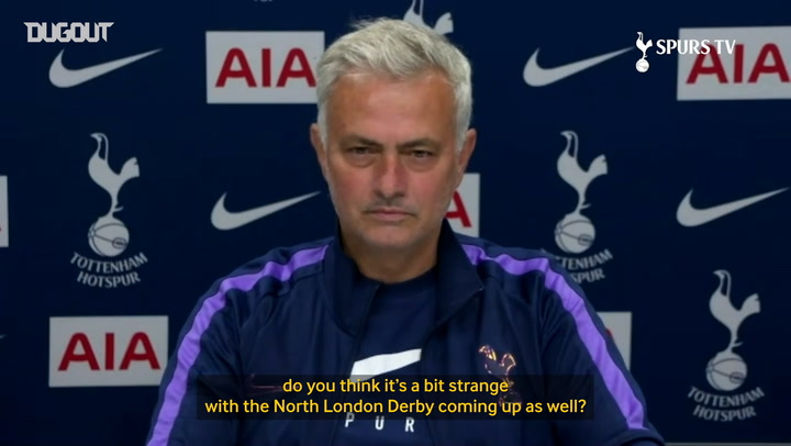 Jose Mourinho ignores north London derby to focus on Bournemouth
