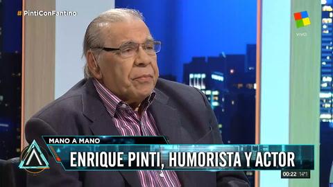Enrique Pinti: La gente no pide flan, pide llegar al 15 de cada mes