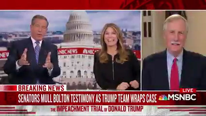 Angus King: Impeachment Without Witnesses Will Have a 'No Trial' Asterisks