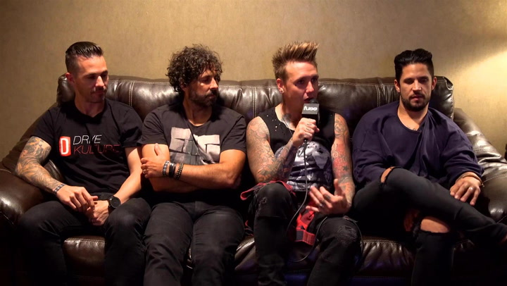 "Papa Roach Hype ""Most Energetic Record To Date"" At APMAs"