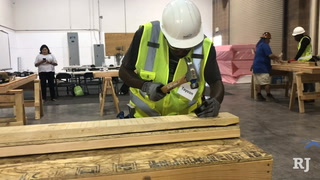Program helps homeless youth gain trade skills – VIDEO