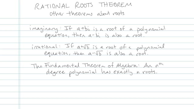 Rational Roots Theorem - Problem 3