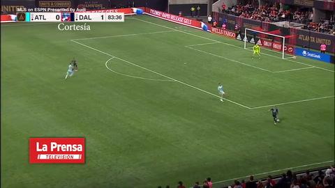 El gol de Bryan Acosta con el  FC Dallas ante el Atlanta United