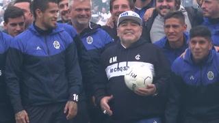 Maradona renunció como DT del club argentino Gimnasia