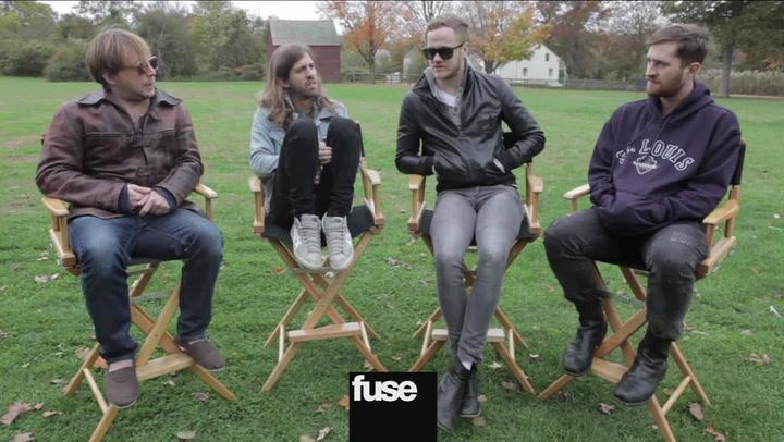Behind The Scenes at Imagine Dragons 'Radioactive' Video Shoot