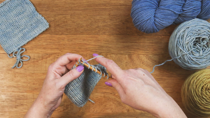 How to do the Slip Slip Knit (SSK) Technique
