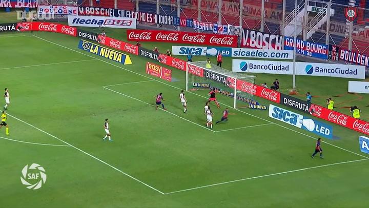 Marcelo Herrera define con clase una gran jugada de los 'Romero'