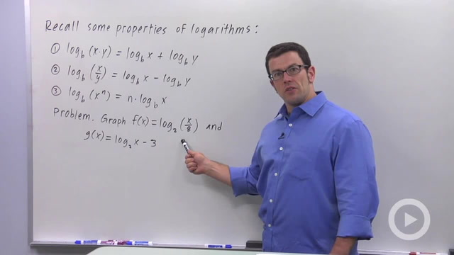Logarithmic Functions - Problem 2