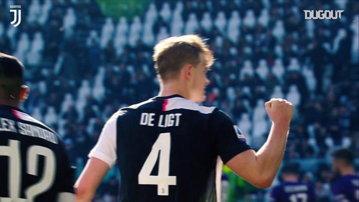 Solidez defensiva de De Ligt na Juventus em 2019/20