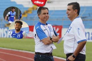 Danilo Acosta y Joshua Canales