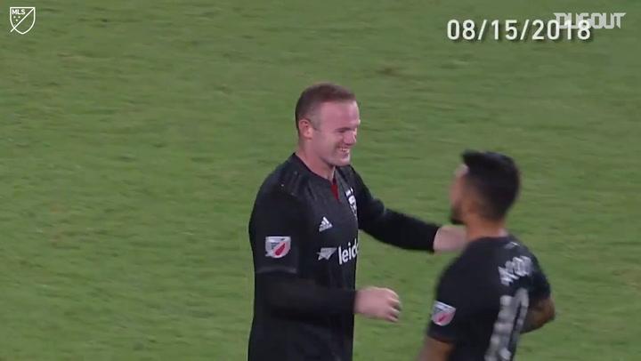 Wayne Rooney's Best MLS Free-Kicks