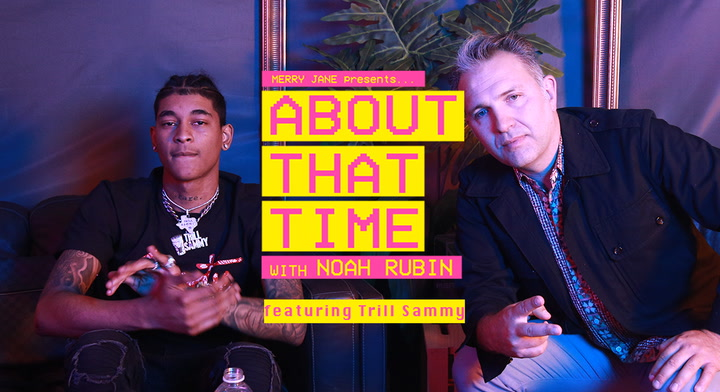 "Trill Sammy Talks 12-Hour Studio Sessions, California Kush and Snowboarding on ""About That Time"""