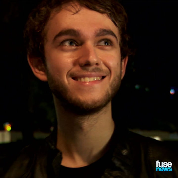 """Zedd on His Hit """"Stay the Night"""" & Narrowly Avoiding Getting Hit By Fireworks - Ultra Fest 2014"""