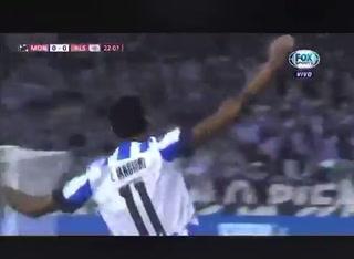 El espectacular golazo de Leonel Vangioni en el Mundial de Clubes al Al Sadd