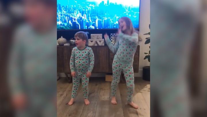Christina Anstead\'s eldest children show off their dance moves