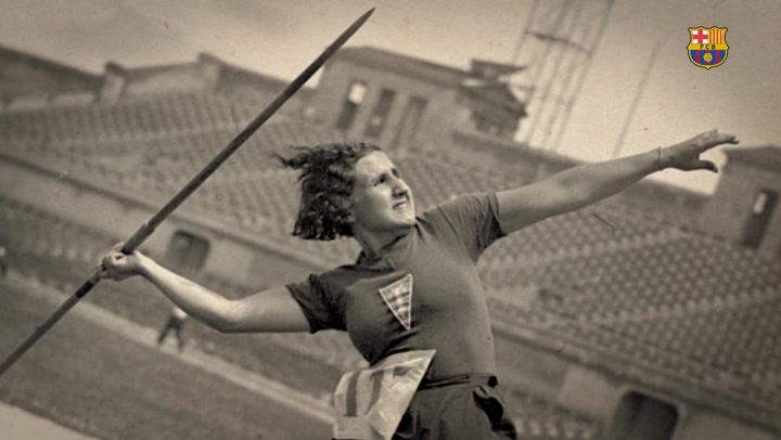 'La Sagi, una pionera del Barça', una obra que hace justicia