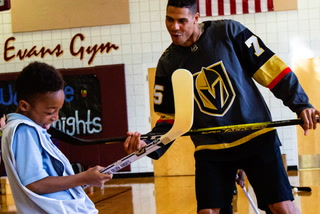Ryan Reaves on What Can Be Done to Bring Cultural Diversity Hockey – VIDEO