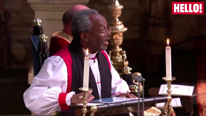 Minister Michael Curry Steals The Show With A Powerful Sermon