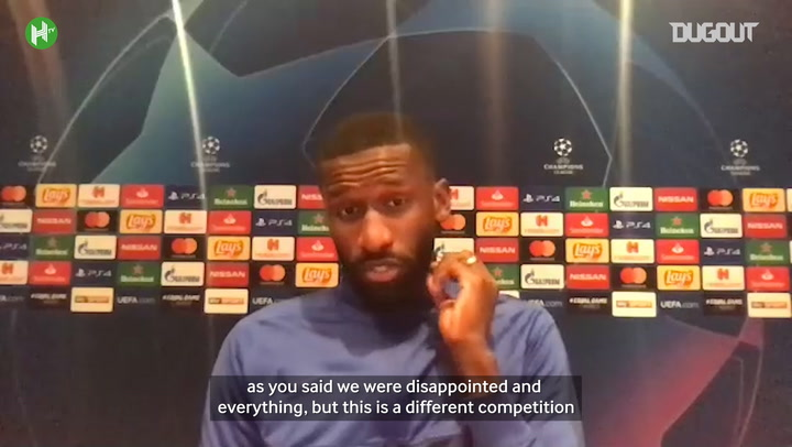 Rüdiger: 'There is no pressure on us'