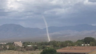 Dust devil in Pahrump (courtesy Lee Smith)