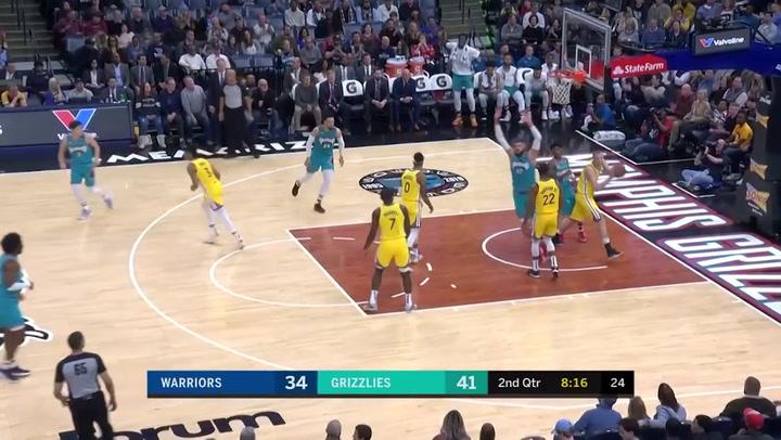 Jonas Valanciunas (Grizzlies), el más destacado de la jornada de la NBA del 12 de enero 2020