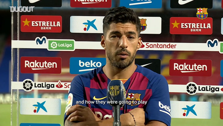 Luis Suarez: 'I am really lucky to be here'