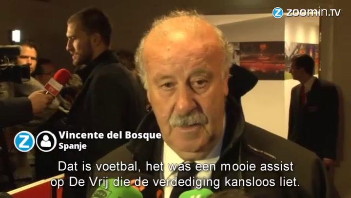 Del Bosque spreekt van leerzaam duel