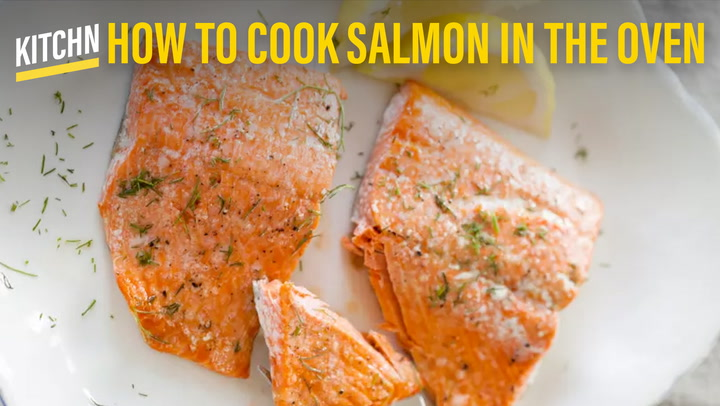 How to cook salmon in the oven kitchn ccuart Image collections
