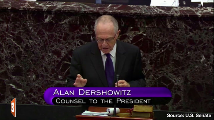 Dershowitz: Trump Impeachment Invalid; Requires 'Criminal-like Conduct'