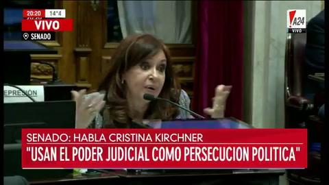 Cristina cruzó a Michetti y la vicepresidenta respondió por Twitter