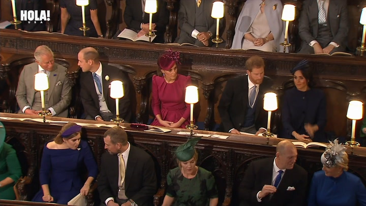 Princess Eugenie and Jack Brooksbank marry at Windsor Chapel