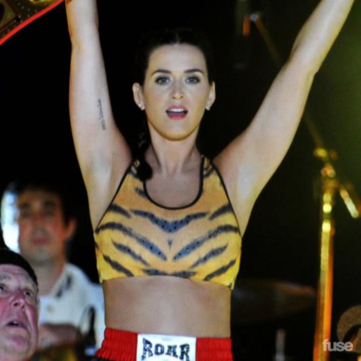 "Katy Perry ""Roar"" Music Video Teaser"