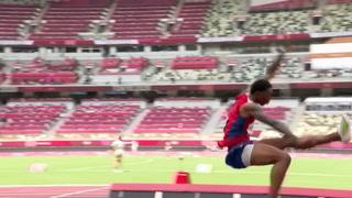El griego Tentoglou arrebata el oro olímpico a Cuba en el último salto