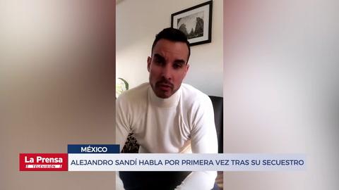 Actor Alejandro Sandí reaparece en Instagram tras ser liberado de sus secuestradores en México