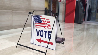 Early voting in the Ward 5 Las Vegas City Council race at Las Vegas City Hall