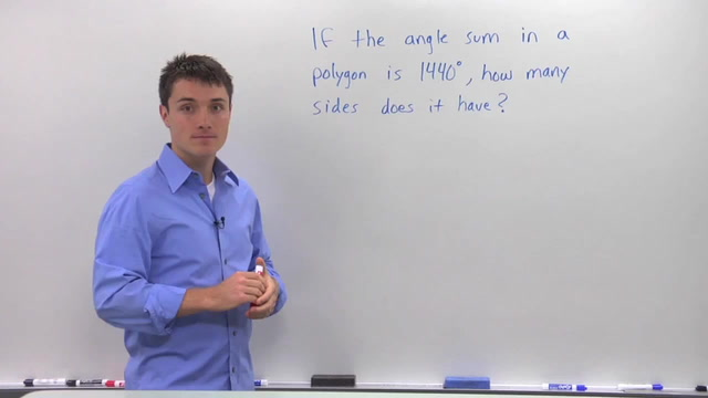 Polygon Angle Sum - Problem 2