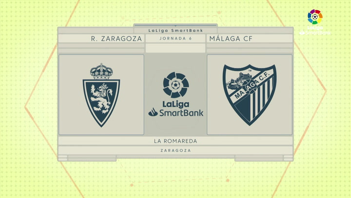 LaLiga Smartbank (Jornada 6): Zaragoza 1-2 Málaga