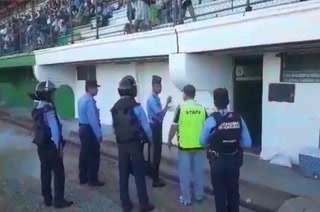 Directivos del Honduras Progreso fueron expulsados del camerino en el Excélsior