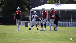 Raiders Offensive Coordinator on who will back up Derek Carr and more