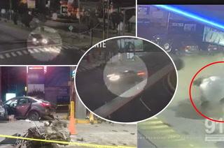 Así fue el impactante accidente de colombiano en San Pedro Sula, Honduras
