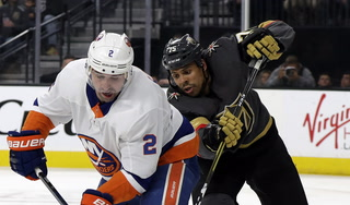 Golden Knights' Ryan Reaves talks about fight before Islanders game
