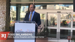 Sunrise Hospital & Medical Center hosts grand opening of the state-of-the-art new tower