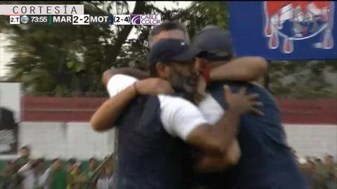 Juan Pablo Montes anota el empate para el ciclón en SPS