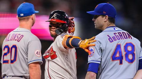 Mets unfortunate Braves loss, Jacob deGrom's dominance, Subway Series memories | SportsNite