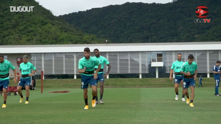 Flamengo complete the first training session of 2021