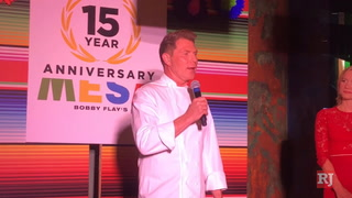 Bobby Flay Celebrates 15 Years Of Mesa Grill at Caesars Palace