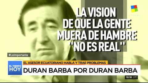 Nuevas (y polémicas) declaraciones de Durán Barba