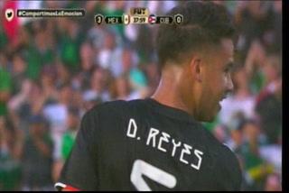 ¡GOL DE MÉXICO! Diego Reyes marca el 3-0 ante Cuba en la Copa Oro