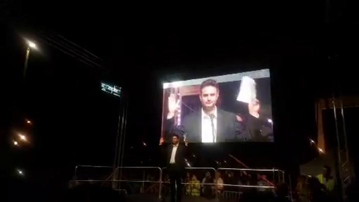 Márki-Zay Péter beszéde a Szabad sajtó útján