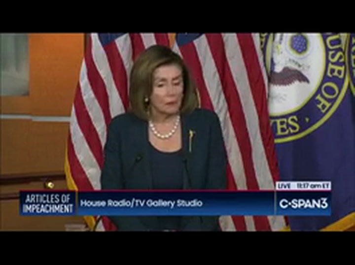 Pelosi on Lev Parnas: 'He'd Be a Credible Witness'